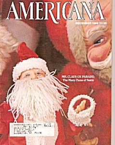 Americana magazine -  December 1988 (Image1)