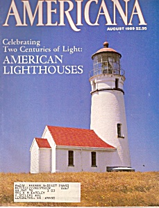 Americana magazine -  August 1989 (Image1)