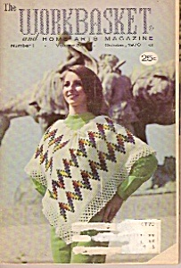 Workbasket Andhome Arts Magazine -october 1970