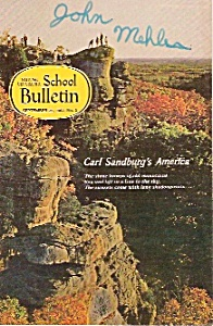 National Geographic School Bulleltin - Sept. 25, 1967