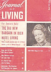 Journal of Living for Seniors only -  March 1955 (Image1)