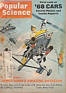 Popular Science Magazine =- June 1967