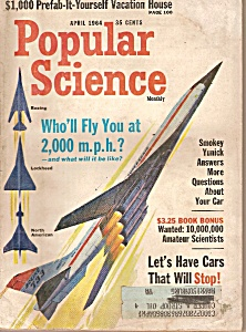 Popular Science - April 1964