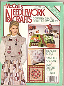 Mccall's Needlework & Crafts - Jan/feb. 1983