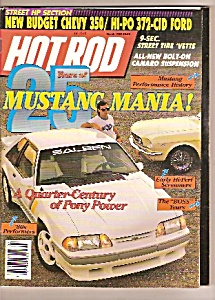 Hot Rod magazine -  Mrch 1989 (Image1)