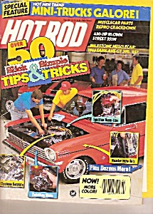 Hot Rod magazine-  July   1988 (Image1)