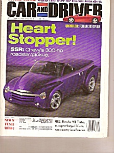 Car and Driver magazine-  April 2000 (Image1)