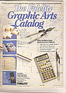 The Fidelity Graph9ic Arts catalog -  Spring 1989 (Image1)