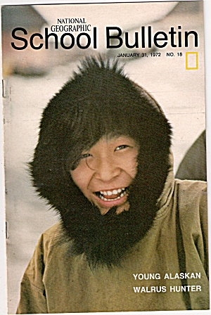 National Geographic school bulletin- January 31, 1972 (Image1)