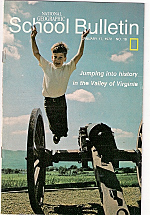 National Geographic school bulletin - January 17, 1972 (Image1)