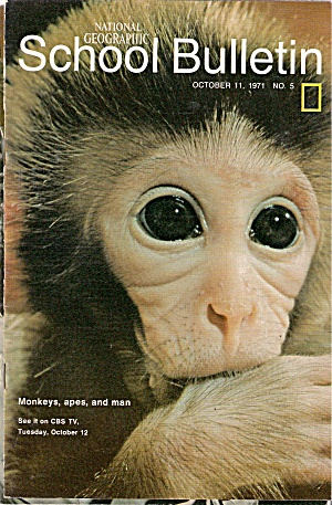 National Geographic School bulletin -October 11, 1971 (Image1)
