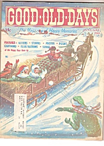 Good Old Days magazine- January 1969 (Image1)