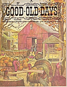 Good Old Days magazine-  November 1971 (Image1)