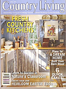 Country Living Magazine- April 1997