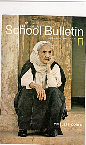 National Geographic School Bulletin - January24, 1972