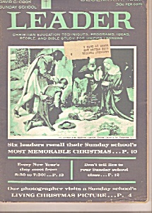 Sunday School Leader Magazine - December 1962