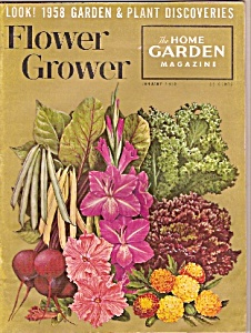 Flower Grower Magazine - January 1958