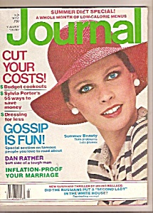 Ladies Home Journal Magazine- July 1980