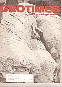 GeoTimes magazine - December 1971 (Image1)