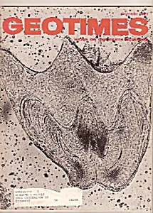 GEO TIMES magazine -   October 1971 (Image1)