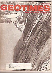 GEOTIMES  magazine-  August 1971 (Image1)