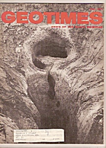 GEO TIMES Magazine -  June 1971 (Image1)