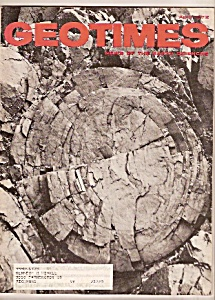 Geotimes Magazine - April 1972