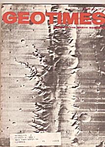 GEOTIMES Magazine - February 1972 (Image1)