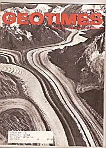 GEOTIMES Magazine -  January 1972 (Image1)