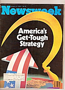 Newsweek magazine-  January 21, 1980 (Image1)