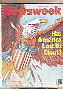 Newsweek magazine -  November 28, 1979 (Image1)