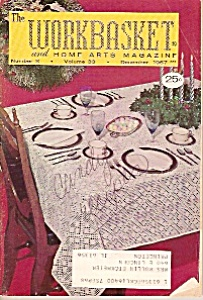 The Workbasket and home arts magazine -  December 1967 (Image1)
