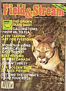 Field & Stream magazine - March 1982 (Image1)
