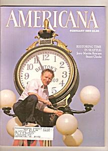 Americana magazine -  February 1989 (Image1)