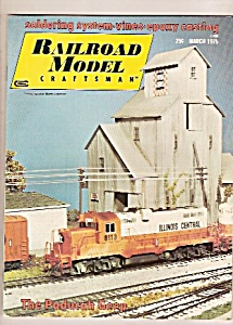 Railroad model craftsman manazine-  March 1975 (Image1)