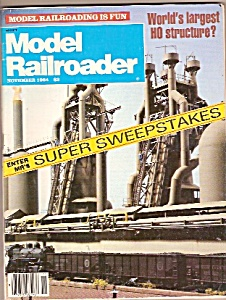 Model Railroader magazine - November 1984 (Image1)