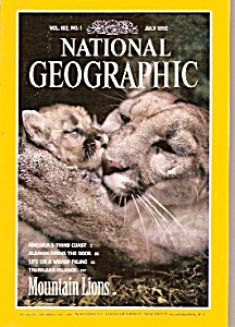 National Geographic Magazine- July 1992