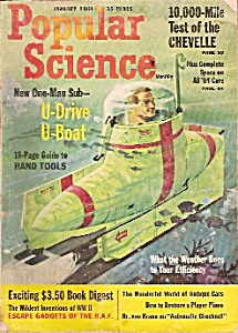 Popular Science Magazine -january 1964