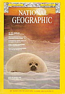 National Geographic magazine-  January 1976 (Image1)