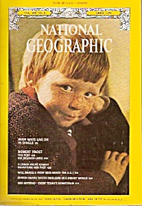 National Geographic magazine -  April 1976 (Image1)