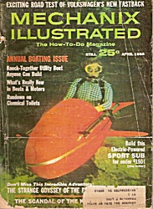 Mechanix Illustrated - April 1966 (Image1)