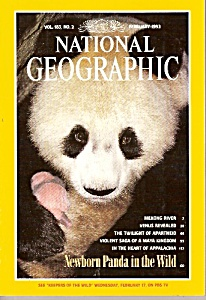 National geographic magazine -  February 1993 (Image1)