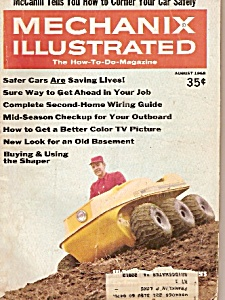 Mechanix illustrated -  August 1968 (Image1)