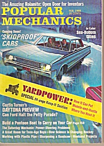 Popular Mechanics -  Feb. 1968 (Image1)