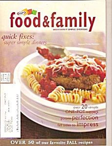 Kraft Food & family quick fixes -    Fall 2005 (Image1)
