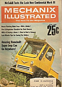 Mechanix Illustrated - April 1968 (Image1)