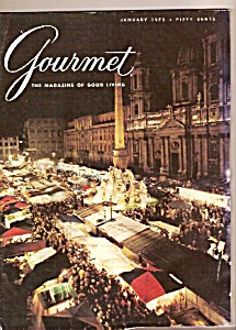 Gourmet magazine- January 1973 (Image1)