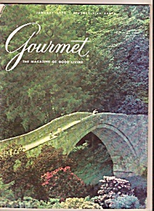 Gourmet magazine-  January 1975 (Image1)