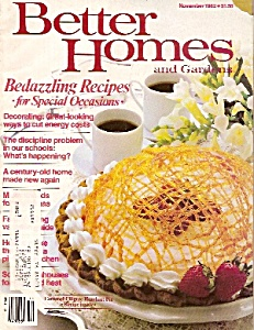 Better Homes and Gardens -  November 1982 (Image1)