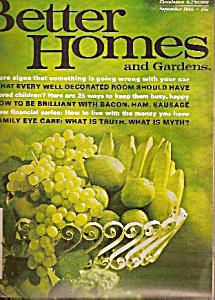 Better Homes and Gardens-  September 1966 (Image1)